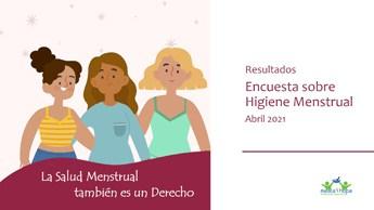 Encuesta Higiene Menstrual 2021