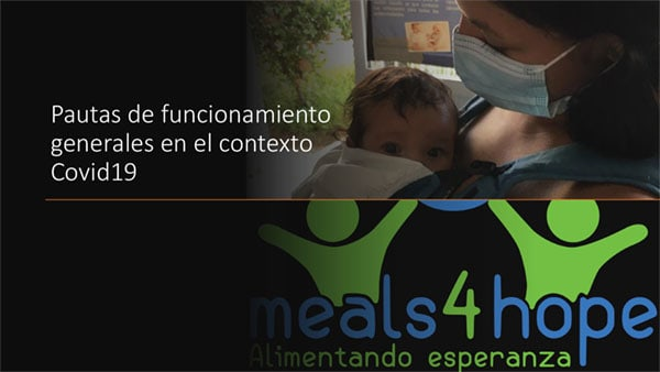 Meals4Hope Covid19 General Guidelines